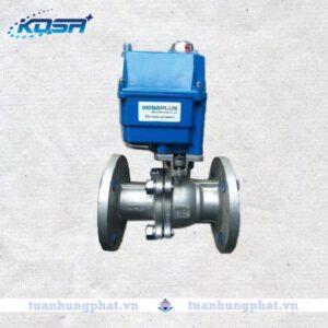 Van bi mặt bích điều khiển điện Kosa Plus
