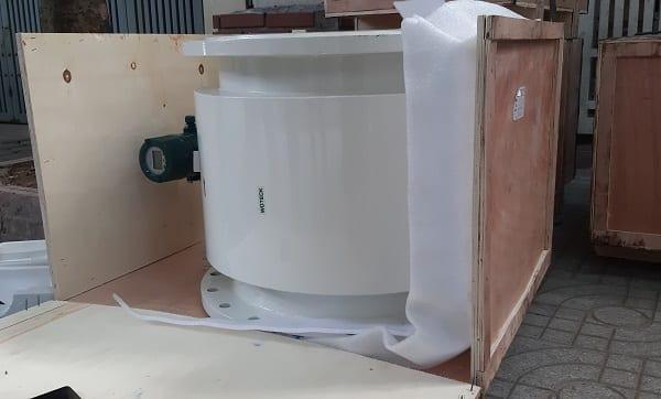 Đập hộp đồng hồ đo nước điện từ DN500 Woteck Đài Loan