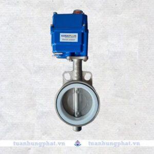 THP valve - Van bướm inox điều khiển điện