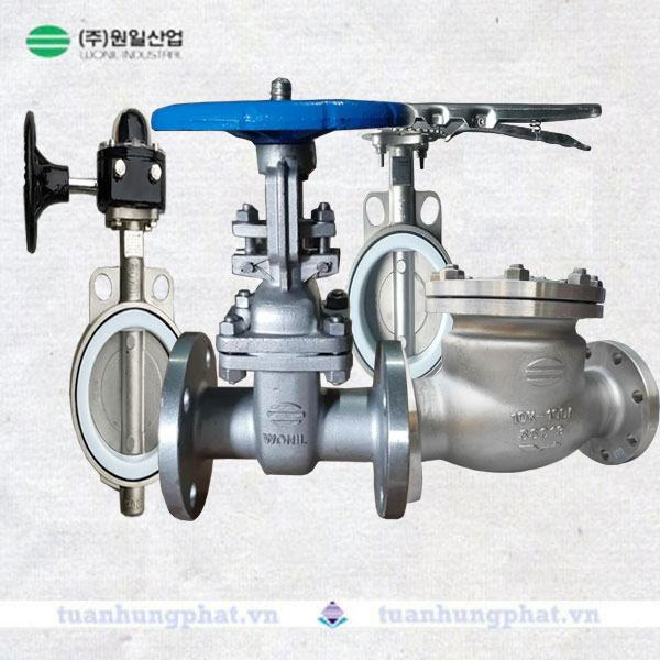 THP valve - Van inox Hàn Quốc Wonil