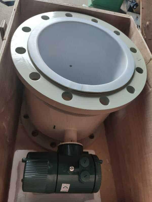 Mở kiện đồng hồ đo lưu lượng nước điện tử Woteck DN300