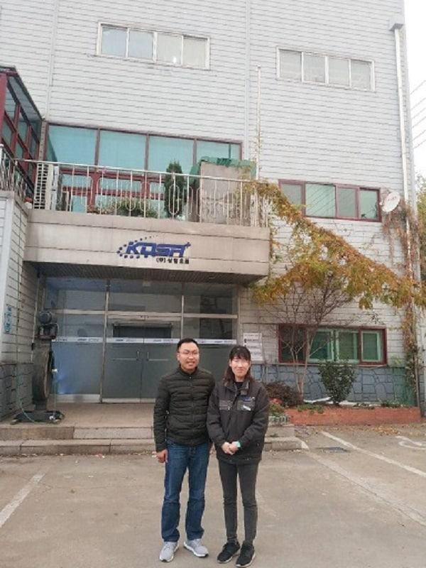 Đại diện Tuấn Hưng Phát thăm trụ sở KosaPlus Hàn Quốc