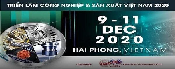 Thư mời tham dự triển lãm công nghiệp và sản xuất Việt Nam 2020