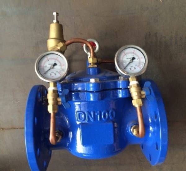 Van giảm áp thủy lực DN100