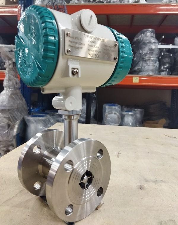 Đồng hồ đo lưu lượng hơi điện từ Woteck Đài Loan