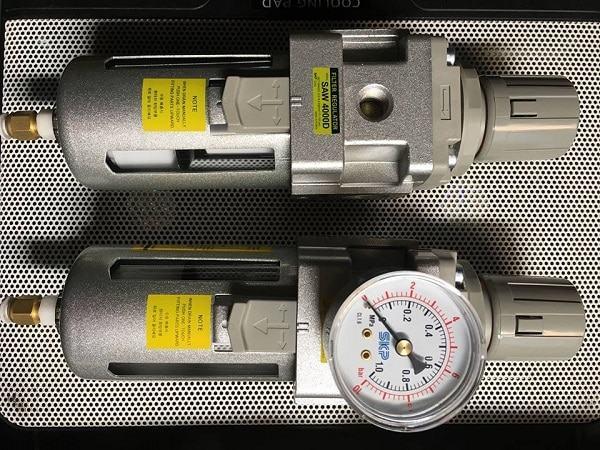 Bộ lọc tách nước đơn có chỉnh áp