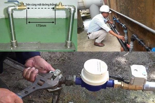 Cách lắp đặt đồng hồ đo lưu lượng nước