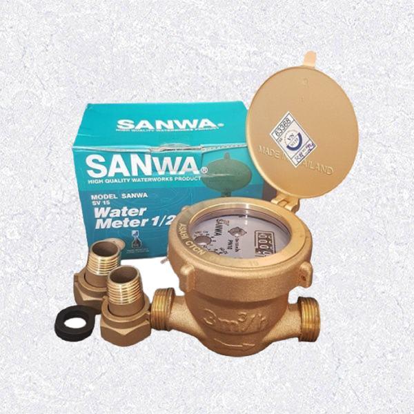 Đồng hồ nước Sanwa - Thái Lan