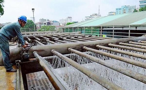 Trạm sử lý nước trong hệ thống cấp nước