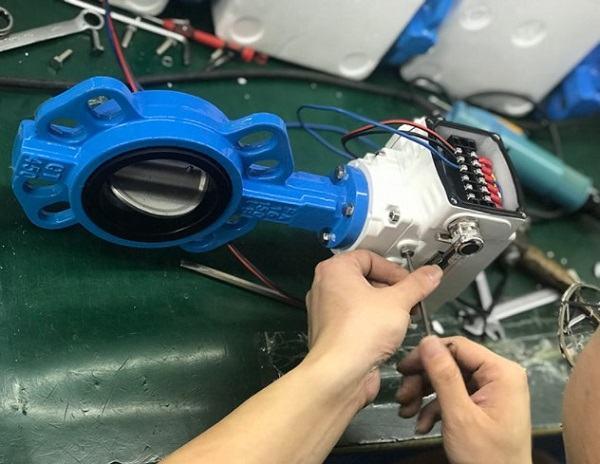 Sửa lỗi van bướm điều khiển điện